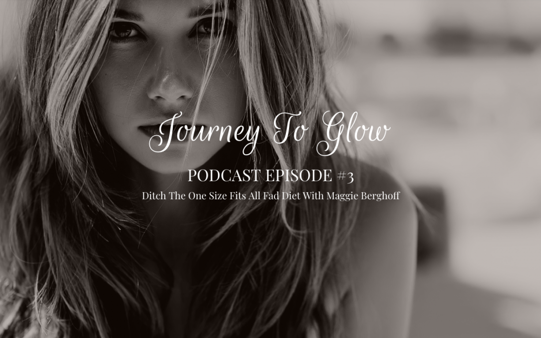 JTG Podcast EP #3 Clear Skin Diet With Maggie Berghoff