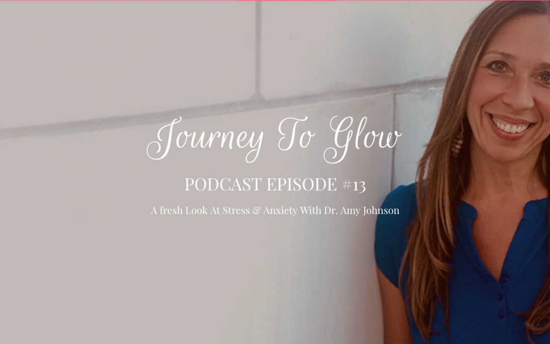 JTG #13 A fresh Look At Stress & Anxiety With Dr. Amy Johnson