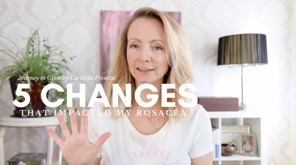5 Big Changes I Made To Heal Rosacea Naturally & Holistically ⁣
