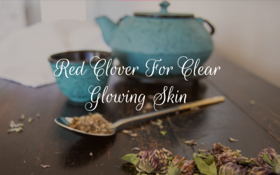 Red Clover Tea For Clear Glowing Skin