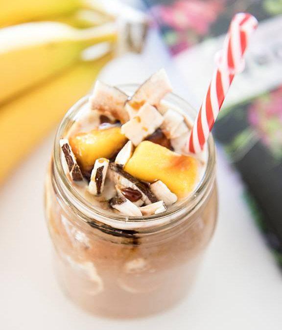 Peanut Butter Coconut Mango Smoothie
