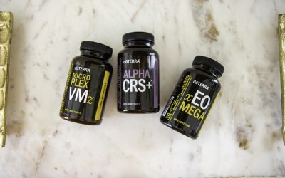 Doterra LLV Lifelong Vitality Pack Supplements