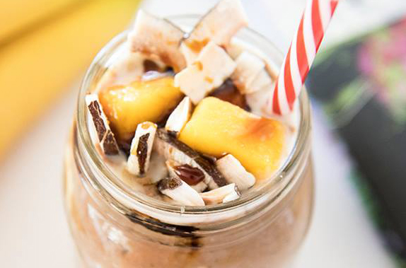 Peanut Butter Coconut Mango Smoothie
