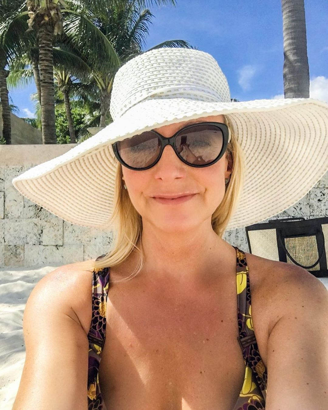 caroline beach hat non toxic sunscreen journey to glow