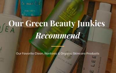 Green Beauty Junkies Favorite Organic Skincare Post