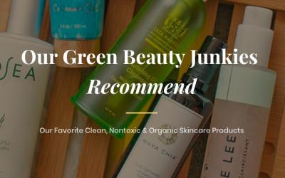 Green Beauty Junkies Favorite Organic Skincare Post