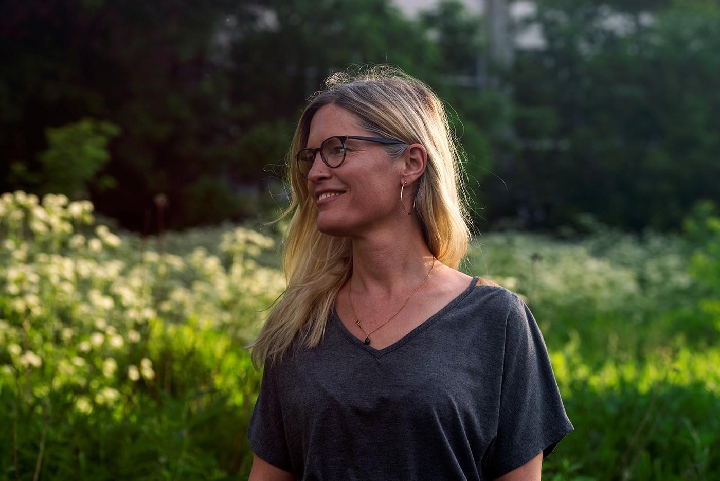 Kim Parenteau Founder Wild Grace Ayurveda Rosacea