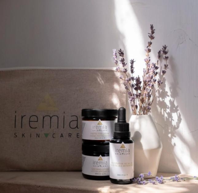 Iremia skincare for sensitive rosacea skin