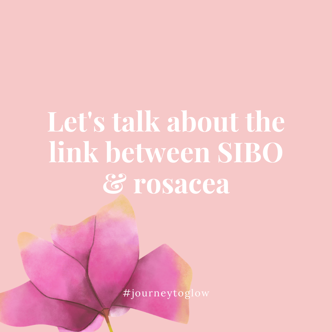 the link between SIBO and rosacea